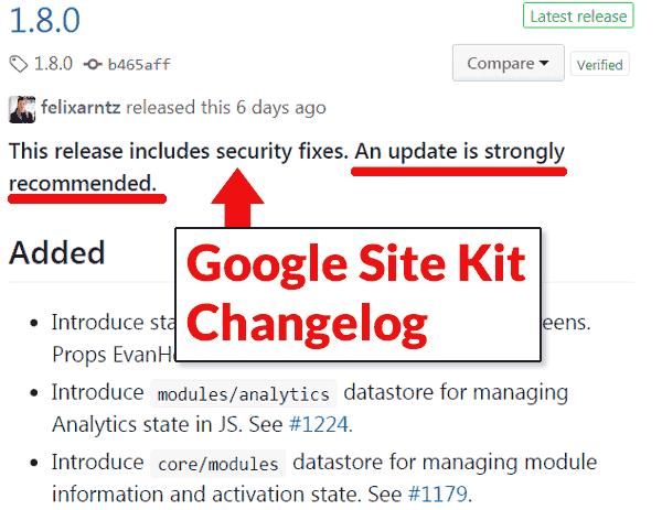 Vulnerabilidad del complemento de Google Site Kit