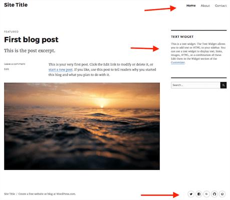İlk WordPress.com blog yazı