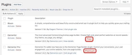 WordPress.org Elementor