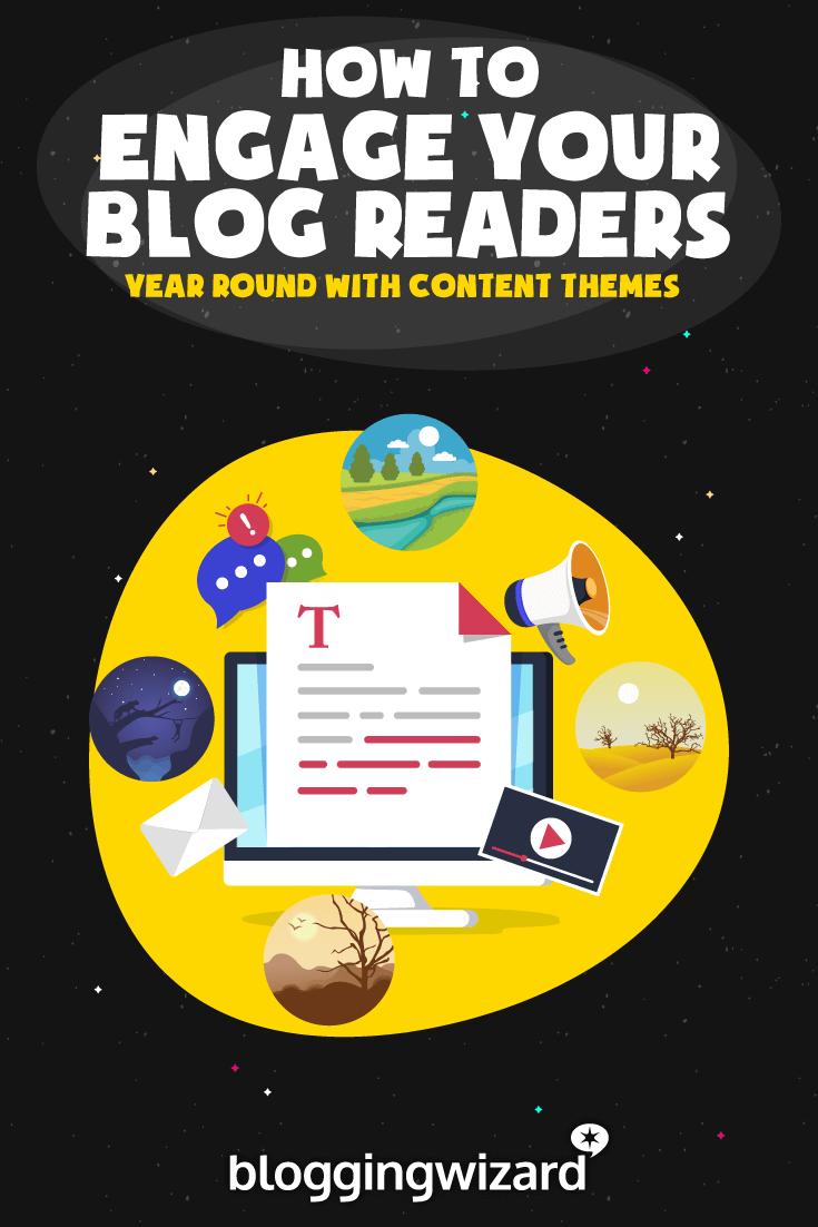 Compromiso de blog durante todo el año