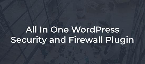 Seguridad de WordPress todo en uno