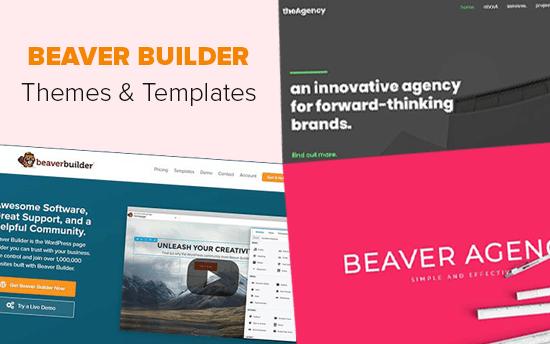 Temas y plantillas de Beaver Builder