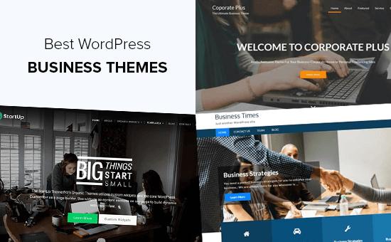 Los mejores temas de negocios de WordPress