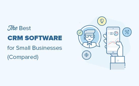 Comparando el mejor software CRM para pequeñas empresas