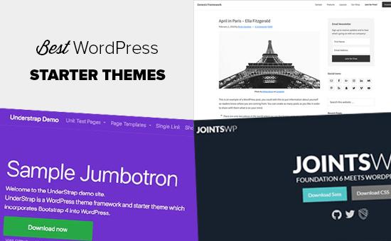 Yaradıcılar üçün ən yaxşı WordPress Başlanğıc mövzuları