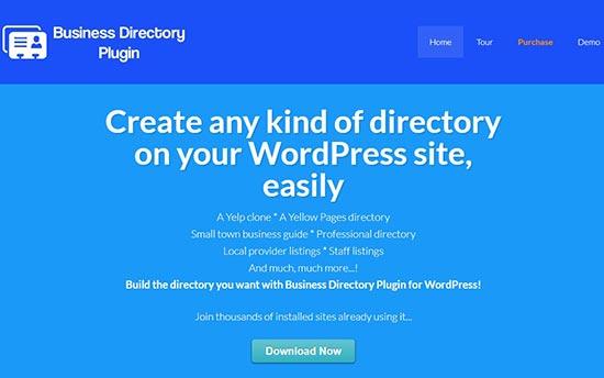 Complemento de directorio de negocios