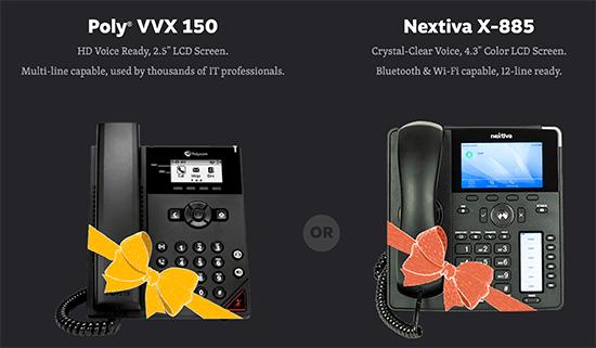 Komerčné telefónne systémy
