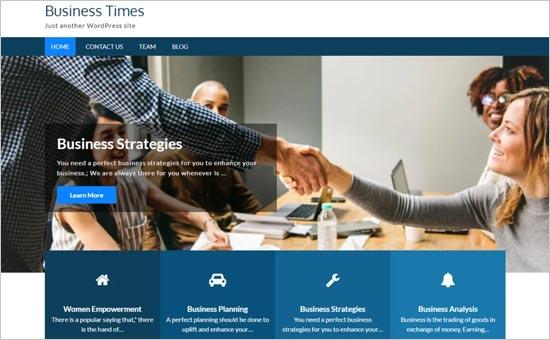 Tiempos de negocios