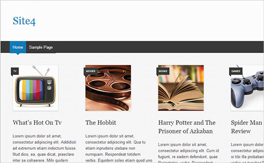 Xem hình ảnh danh mục trong WordPress khi không tìm thấy hình thu nhỏ cho bài đăng