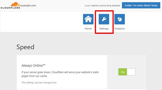 Wordfress üçün Cloudflare-ni tənzimləmək