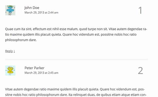 Cách thêm số vào bố cục bình luận WordPress của bạn 8