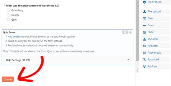 Crea un cuestionario en WordPress usando formularios formidables