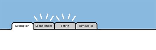 Các tab sản phẩm tùy chỉnh WooC Commerce