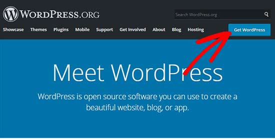 Tải xuống WordPress