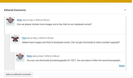 Agregar comentarios editoriales a publicaciones en WordPress
