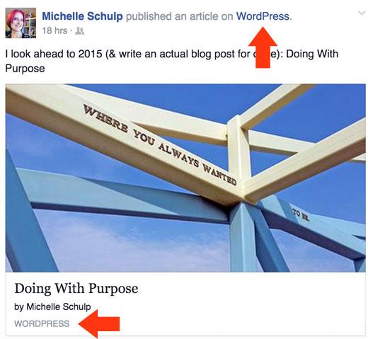 Facebook  Estado siendo secuestrado por JetPack publicize