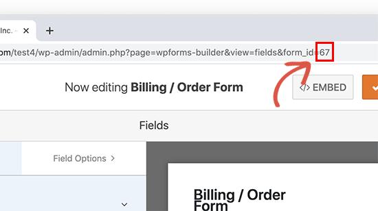 WPForms-da forma şəxsiyyətini tapın