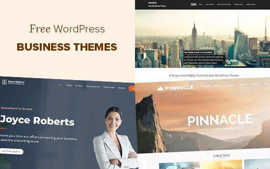 Các chủ đề kinh doanh WordPress miễn phí tốt nhất