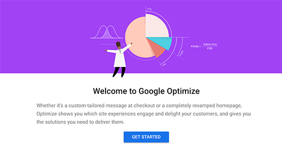 Bắt đầu với Google Optimize