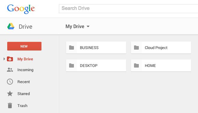 google sürücü veb