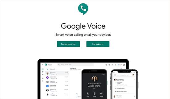 voz de Google
