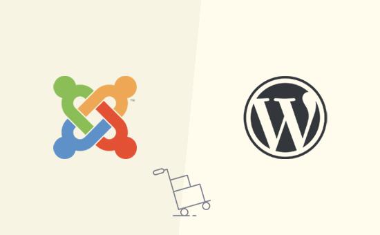 Mover su sitio web de Joomla a WordPress