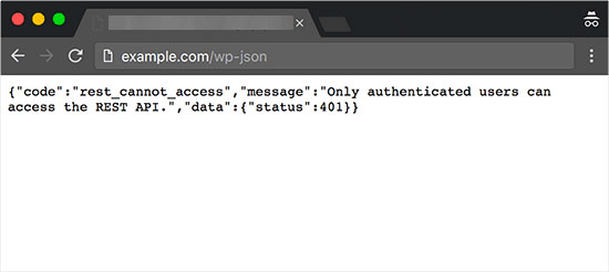 API JSON REST