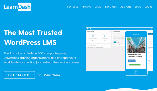 LearnDash - El mejor complemento LMS de WordPress