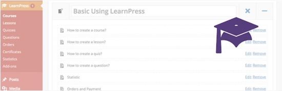 LearnPress Plugin de sistema de gestión de aprendizaje gratuito de WordPress