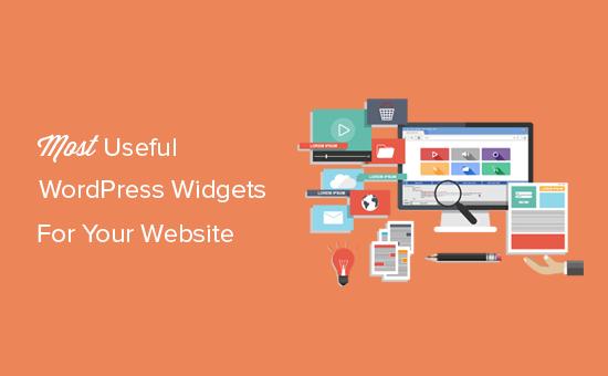 Los widgets de WordPress más útiles para tu sitio web