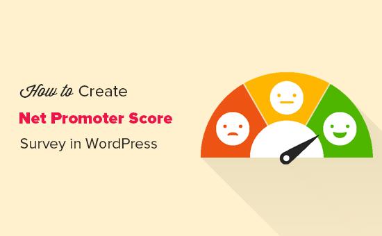 Crear encuesta de Net Promoter Score en WordPress