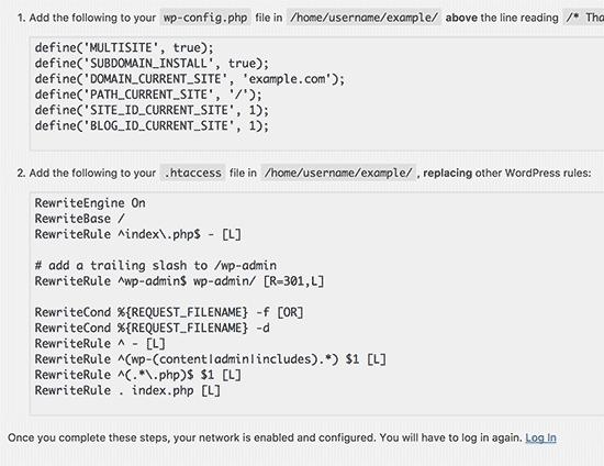 Pridajte kód do súborov wp-config a .htaccess