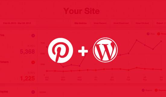 kiểm chứng Pinterest Trang web WordPress
