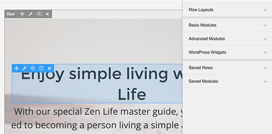 Apunte y haga clic para editar un elemento