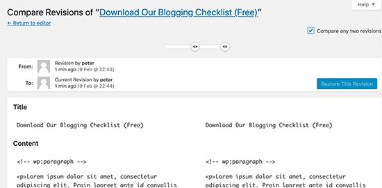 Hạn chế đánh giá bài đăng trên WordPress