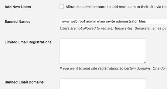 Možnosti registrácie