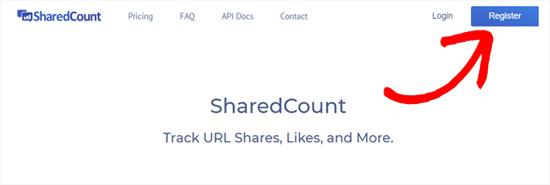 SharedCounts com-da qeydiyyatdan keçin
