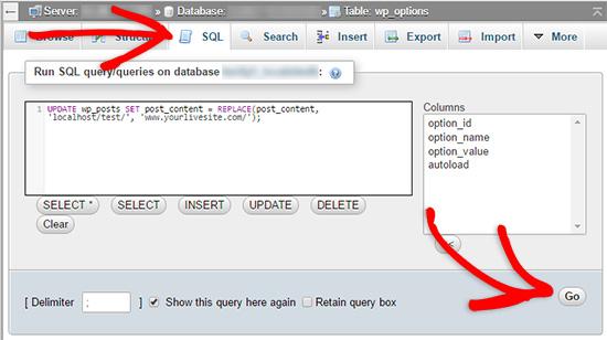 Sửa hình ảnh WordPress và URL bị hỏng sau khi chuyển đến trang web trực tiếp