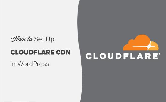 WordPress-də pulsuz Cloudflare CDN konfiqurasiyası