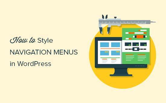 Diseño de menús de navegación en WordPress