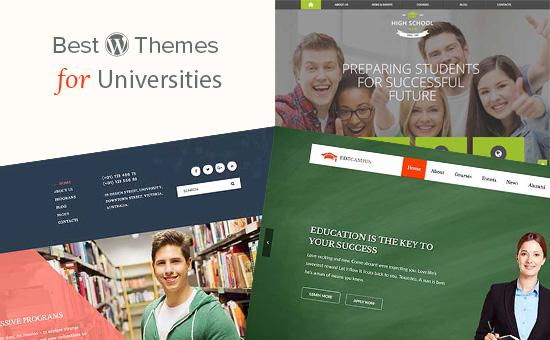 Temas de WordPress para universidades