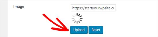 Cargue una nueva imagen de carga para WordPress Infinite Scroll