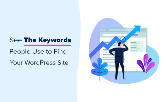 Vea las palabras clave por las que su sitio web clasifica