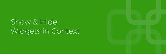 Contexto del widget
