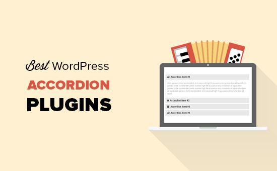Các plugin accordion WordPress tốt nhất