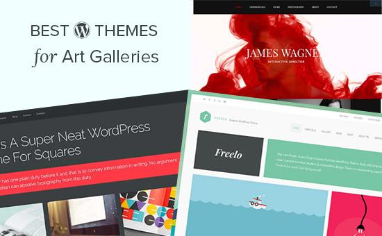 24 najlepsze motywy WordPress dla galerii sztuki