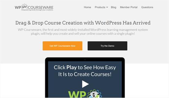 WP Courseware Plugin para crear cursos en línea