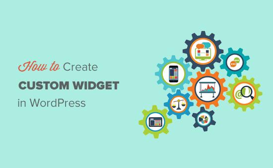 Kuinka luoda mukautettu WordPress-widget