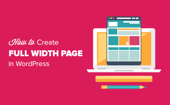 Crear una página de ancho completo en WordPress