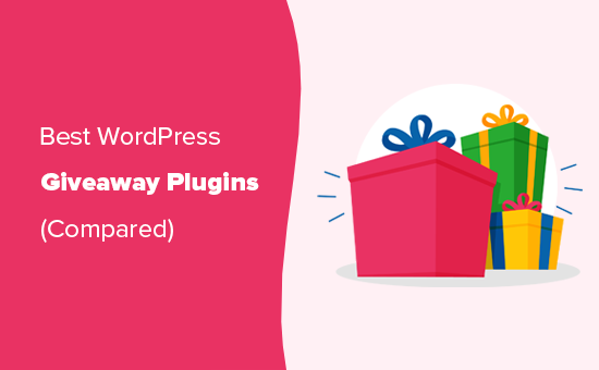 Los mejores complementos del concurso de regalos para WordPress